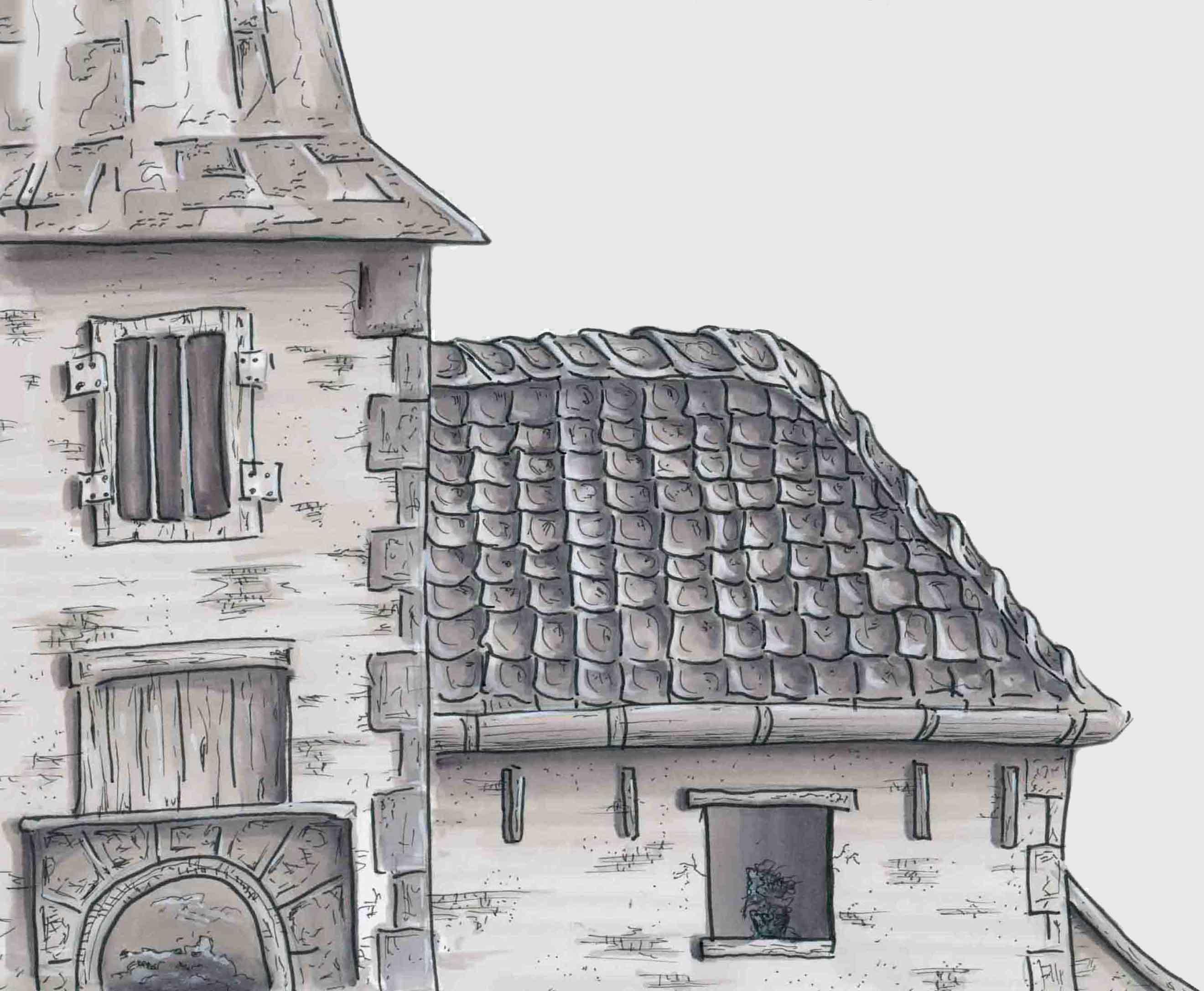 Kerk illustratie