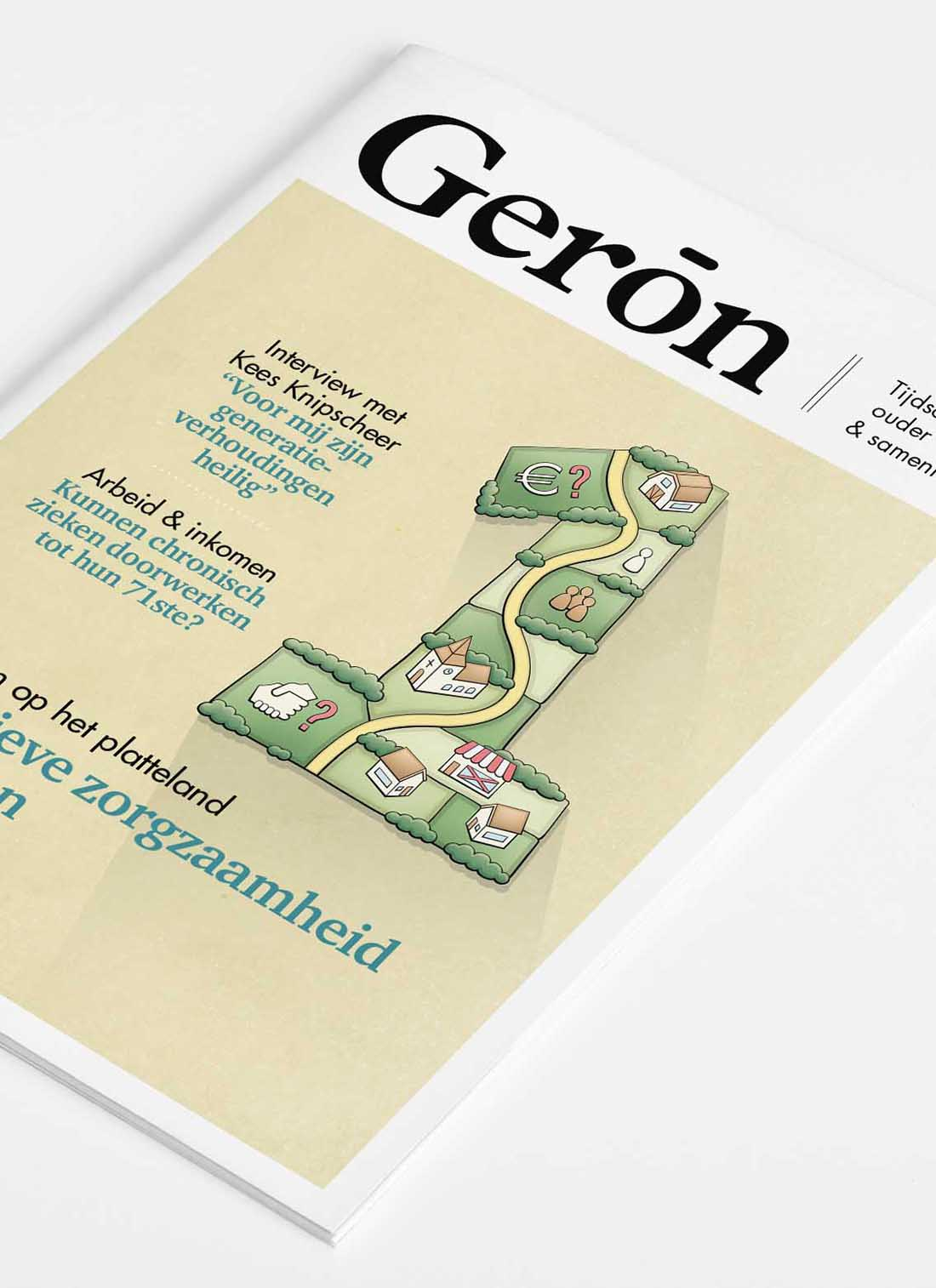 Geron 1 cover illustratie