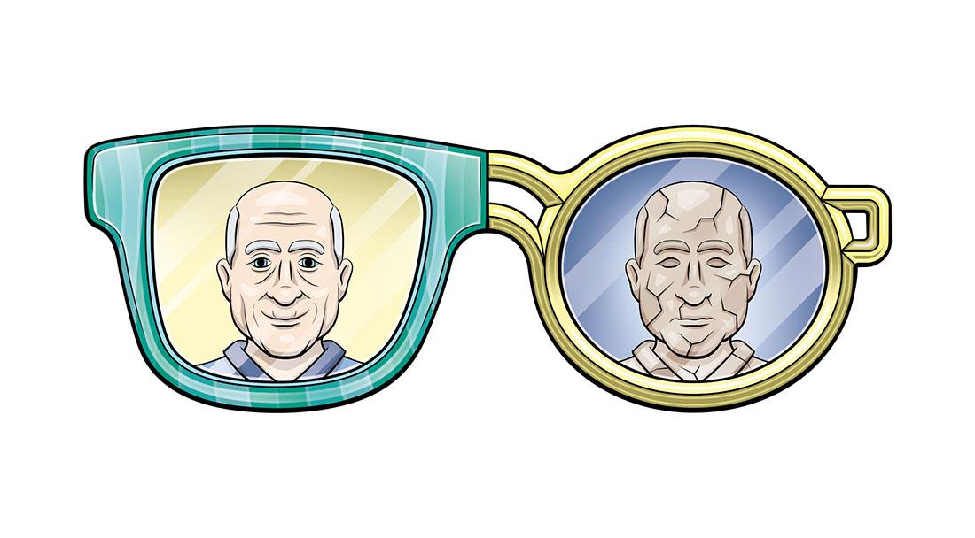 Illustratie bril